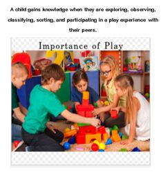 Children are gaining knowledge through play experience with their peers. Child Life, Social Skills, Problem Solving, Kids Learning, Knowledge, Language, Explore, Play, Children