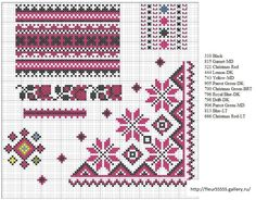Cross-stitch Borders                                                                                                                                                                                 Plus