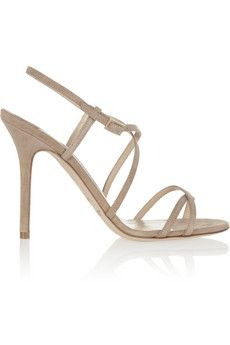 Jimmy Choo Issey suede sandals | NET-A-PORTER
