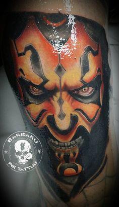 #tattoo #tattooist #tattoolife #tattooartist #tattoofreakz #tattoolifemag #tattooistartmag #tattooed_body_art #tattooistartmagazine #thebesttattooartists #thebestpaintattooartists #colortattoo #inkedmag #inkfreakz #crazytattoos  #tattooalmeria #tattooed  #terrortattoo #starwars #starwarstattoo #darthmaul #darthmaultattoo #inprogresstattoo