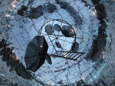 Syntagma metro station, ceiling view. Photo by Alexia Amvrazi