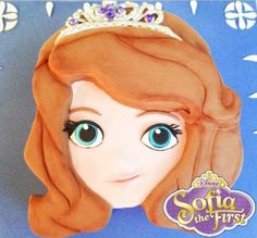 Sofia the First Cake! Learn how to make her here - http://youtu.be/r38Zz3ZM3ew
