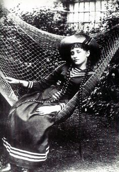 French author Colette, late 1800s