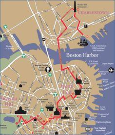 Freedom Trail Run in Boston