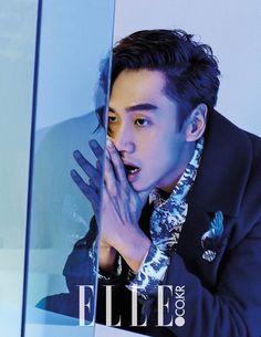 Lee Kwang Soo - Elle Magazine November Issue '15