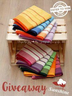 ☀️SunshineBrand☀️ Giveaway με δώρο σετ πετσέτες! Giveaways, Towel, Blog, Blogging, Towels
