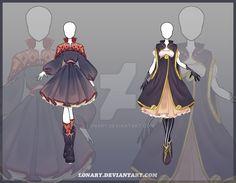 [Open] Design adopt_117-118 by Lonary.deviantart.com on @DeviantArt