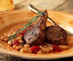 Tuscan Lamb Chop Skillet Recipe | Food Recipes - Yahoo! Shine