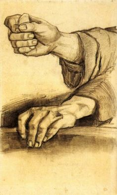 Two Hands Vincent van Gogh