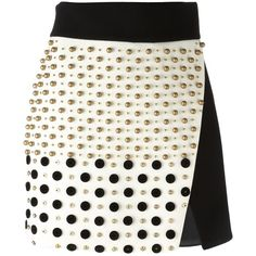 8567b048ee Fausto Puglisi studded skirt ( 747) ❤ liked on Polyvore featuring skirts