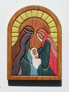Wanting to do a pc nativity in either mosaic or filigree. Christmas Craft Fair, Christmas Nativity Scene, Christmas Wood, Christmas Pictures, Christmas Decorations, Nativity Scenes, Intarsia Woodworking, Woodworking Crafts, Bois Intarsia