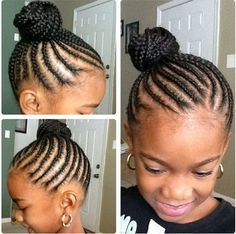 cute hairstyles for little black girl - Google Search