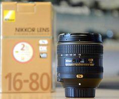 New Nikon AF-S DX Nikkor 16-80mm f/2.8-4E ED VR Zoom Lens #Affiliate
