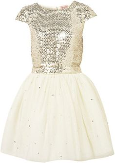 **Sequin Scatter Prom Dress by Dress Up Topshop - Polyvore