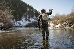 It has been said that fly fishing is a perpetual series of occasions for hope.  @Bloodknots  Greet The Outdoors