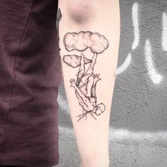 Cloud designs are increasingly popular among tattoo artists. Many cloud tattoos are typically done in black, but can be done in multiple colors for premium effect. Representing the sky, or the heavenly and spiritual realm…