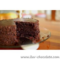 Chocolate cake is the best!