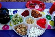 Fondue Party Ideas – Child Chocolate Theme Birthday Party