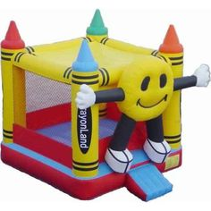 Cheap and high-quality Crayon Bouncer for sale. On this product details page, you can find comprehensive and discount Crayon Bouncer for sale.