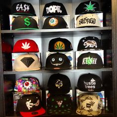 #w33daddict #Caps #Casquettes #HitManGlass #GrassRootsCalifornia #GRC #VisualFiber #OilWorkz #DinafemSeeds #SmokingGear #GreenLifeClothing #IndicaClothing...