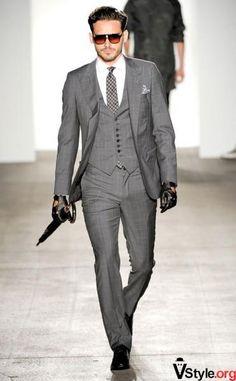 Классические мужские жилетки костюм тройка