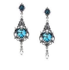 Empress Eugenie Ladies Gothic Earrings By Alchemy Gothic