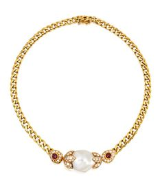 Lot 846 at Sotheby's auction of Brooke Astor's jewels. Necklace. Van Cleef & Arpels, France