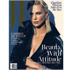 """Beautiful With Attitude! @mertalas @macpiggott @wmag via @image_amplified  @troy_wise @5by5forever #wmagazine #CharlizeTheron #MertAlas #MarcusPiggott…"""