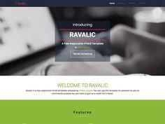 Ravalic - Plantilla gratis HTML5