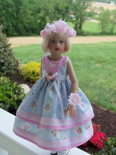 """13"""" Little Darling or 14"""" Kish Chryslis / Doll Clothes by Farmcookies #Farmcookies"""