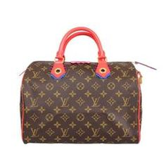 0ecde7fdaf1b Louis Vuitton Monogram Canvas Gold HDW 2015 Limited Edition Speedy 30 Tote  Bag Monogram Tote