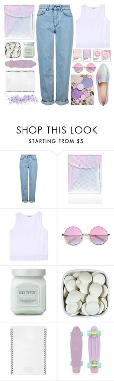 """UNICORNS"" by dianakhuzatyan ❤ liked on Polyvore featuring Topshop, Current Mood, Edun, Laura Mercier, L'ATELIER d'exercices, Retrò, Kate Spade, Pink, purple and unicorns"