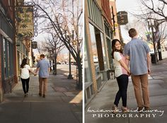 Brianna Siddoway Photography- Engagement Photography, Couples posing, Urban engagements, Ogden Utah, Beautiful Engagement Photography