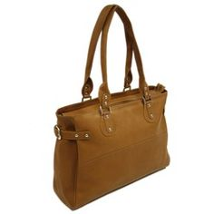 LEATHER LARGE LADIES SIDE STRAP TOTE