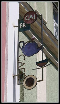 tea and coffee shop in Maribor, Slovenia