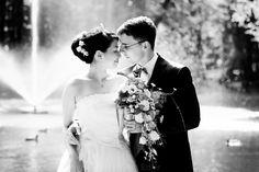 Portrait, Porträt, Paarfotos von der Hochzeit
