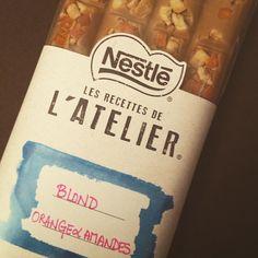 """Et la tablette que j'ai """"crée"""" rien que pour moi ! #nestle #lesrecettesdelatelier #gourmandise #tablette #chocolat #instachocolate #yummy"""