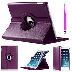"""ipad pro 9.7 case (2016) Premium Quality PU Leather 360 Degree Rotating Case Cover With Free UK Delivery BY iPro (IPAD PRO 9.7"""", PURPLE) iPro http://www.amazon.co.uk/dp/B01DE1VUFA/ref=cm_sw_r_pi_dp_TRxbxb0NHKZJW"""