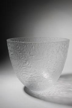 Bowl, designed by Ingegerd Råman for Orrefors, Sweden |  2010