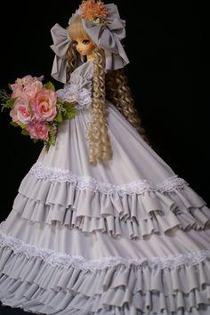 ドールのドレスにぴったりのトリコットのアイデア♡
