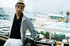 Anders Overgaard - Portraits - Pharrell Williams