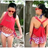 DIY Swimsuit Cover Up I need one please