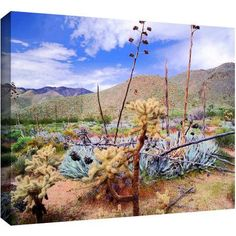 Dean Uhlinger The People's Homeland Gallery-Wrapped Canvas, Size: 14 x 18, Green