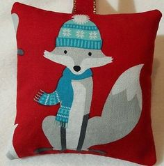 Fox Christmas  Gift / Fox Fabric Lavender Bag / Stocking Filler