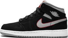 Nike Shoes, Shoes Sneakers, Jordan Outfits, Jordan 1 Mid, Air Jordan Shoes, Custom Sneakers, Sock Shoes, Fashion Boots, Jordan Apparel