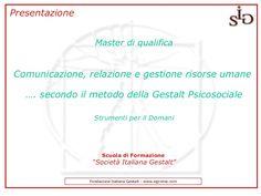presentazione-master-qualifica by Cristian Flaiani via Slideshare
