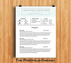 creative resume templates cv templates cover letter modern resume designs mac or pc fully customizable hancock - Mac Resume Templates