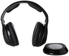 esombrero: Sennheiser RS 160 RF Wireless Headphones by Sennhe. Wireless Headphones Review, Sennheiser Headphones, Wireless Headphones For Running, Best Noise Cancelling Headphones, Waterproof Headphones, Over Ear Headphones, Audiophile, Lava, Gifts