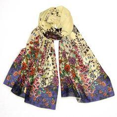 Ditch the jewelry - wear a scarf!