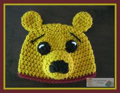 This little bear is known by all and loved by all. Anyone would love to have this sweet Honey Bear to warm their head.